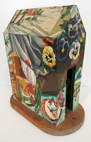 """Don Baum, Untitled (Domus), n.d.. assemblage, 17 3/8 x 15 x 9"""", Gift of Chuck Thurow, Chicago IL"""