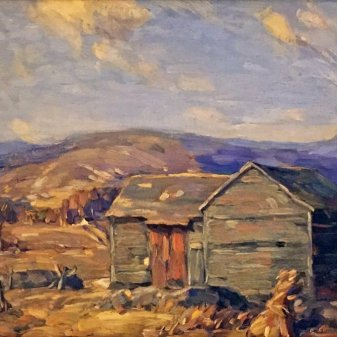 """Lake Winter, Catskills,"" Ivan F. Summers, 1925, Cedarhurst Center for the Arts"