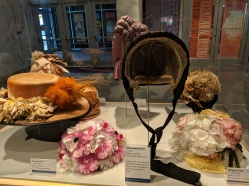 Various hats from the Illinois Legacy Collection.
